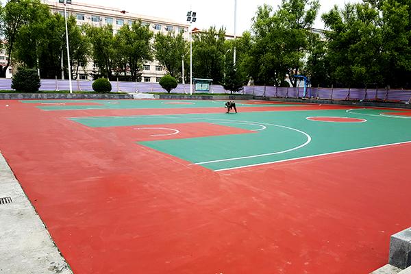 哈尔滨亚布力林业局篮球场千亿国际开户案例(图文)