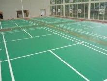 羽毛球场塑胶运动地板
