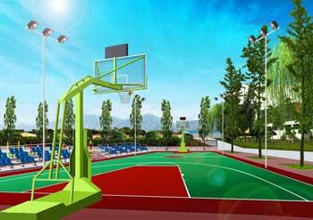篮球场千亿国际开户效果图