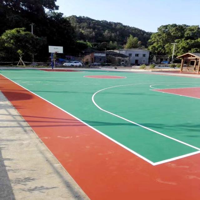 天津市静海县硅pu塑胶篮球场千亿国际开户