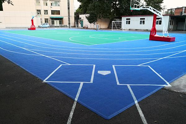 天津红桥区体育局地面千亿国际开户效果(图文)