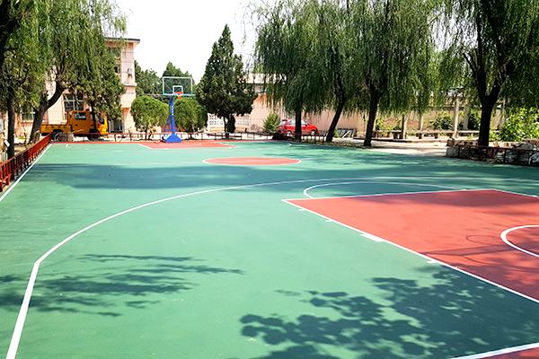 天津汉沽联通公司篮球场千亿国际开户案例(图文)
