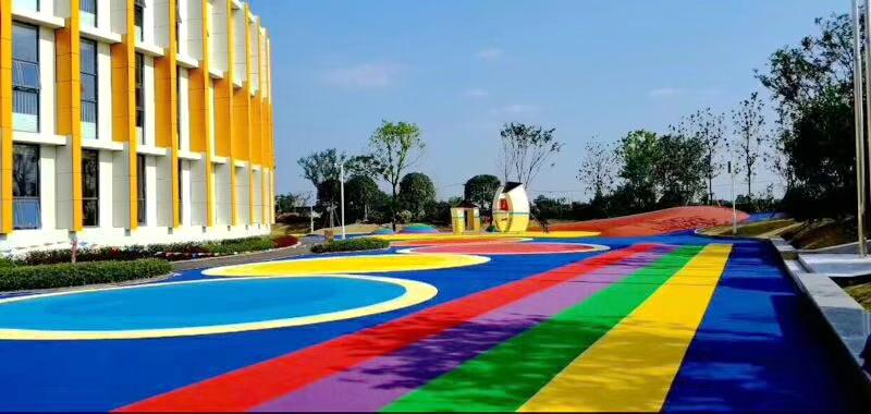 天津大港第五幼儿园橡胶地面千亿国际开户